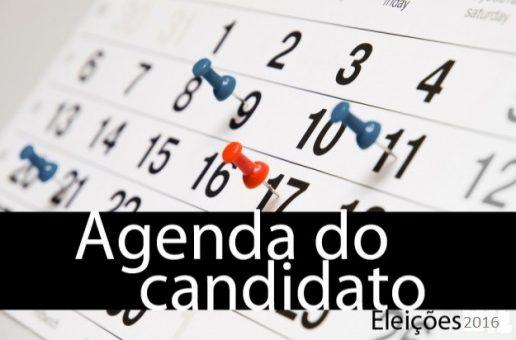 Veja como está a agenda dos candidatos de JP e CG nesta segunda-feira